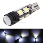 MZ T10 5W LED Car Clearance Lamp / Door Light / Reading Lamp White 6500K 8-5050 SMD + 1-COB (12V)