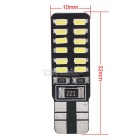 MZ T10 2.4W Canbus LED Car Clearance / Reading Light White 24-SMD