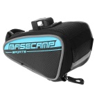 Basecamp BC-303 Waterproof Outdoor Sports Mountain Bike Saddle Seat Bag - Black + Blue