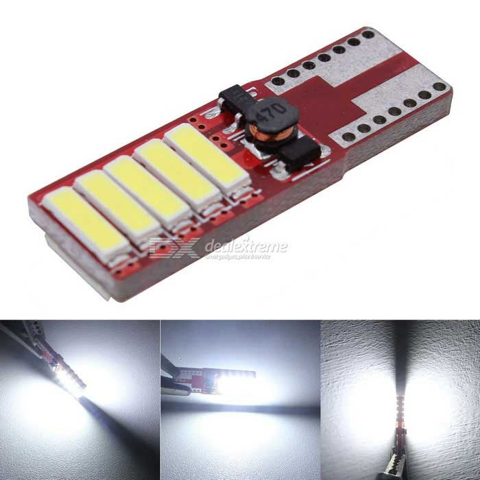 MZ T10 W5W 5W Canbus 10-LED auto Opruiming / Reading Light White (12V)