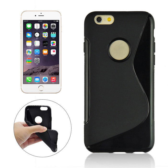 Angibabe Protective TPU Back Case for IPHONE 6 / 6S - Black