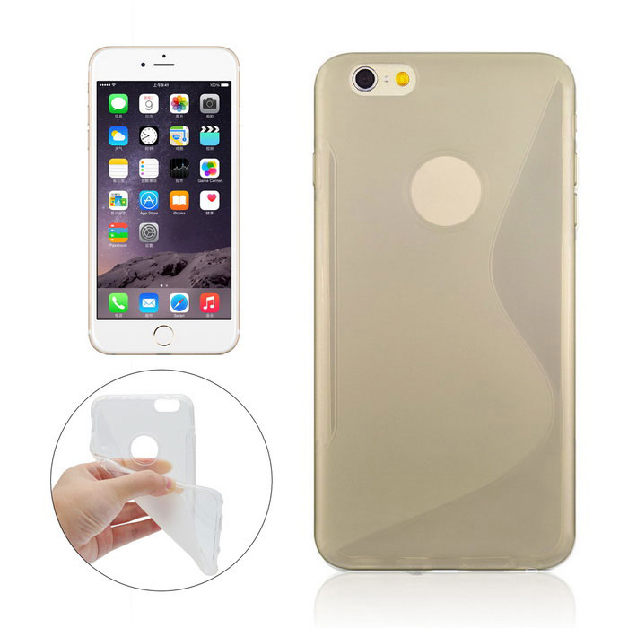 "Angibabe ""S"" Pattern TPU Back Case for IPHONE 6 / 6S - Transparent"