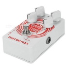 Caline CP-27 SAND STORM Crunch Distortion Electric Guitar Effects Pedal - White + Red