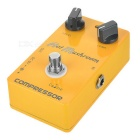 CALINE CP-10 Hot Mushroom Compressor Electric Guitar Effects Pedal - Yellow