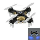 Cheerson CX-10C 4CH 2.4GHz Radio Control Quadcopter w/ 0.3MP Camera - Black + White