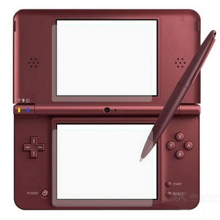 Screen Protector Set for DSi LL (2-Piece Set)