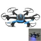 JJRC H21 4H 2.4GHz Radio Control 6-Axis Quadcopter w/ LCD - Blue + Black