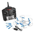 JJRC H21 4H 2.4GHz control de radio 6-Eje quadcopter w / LCD - blanco