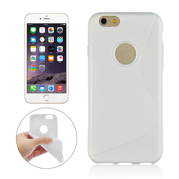 Angibabe AB00080 TPU Back Case for IPHONE 6 PLUS / 6S PLUS - White