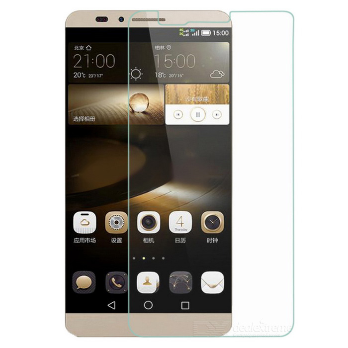 0.3mm Clear Tempered Glass Display Schutzfolie für Huawei Mate 7-erkennbar