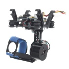 Adjustment-Free 3-Axis Brushless Camera Mount Gimbal Kit w/ Gyro for Hawkeye / GoPro / HD19 / SJ4000