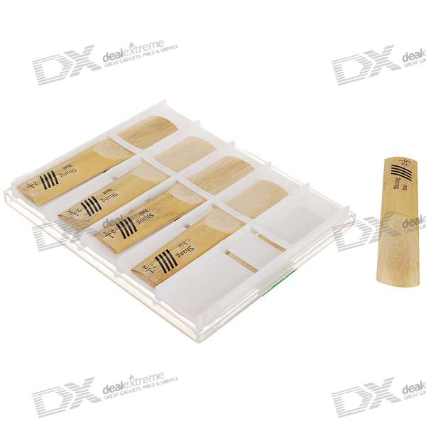 Tenor Saxophone Bb Reeds (10-Pack) beautiful wooden bassoon reeds case hold 10 pcs reeds strong