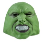 Green Rubber Face Mask for Cosplay / Halloween Costume Party