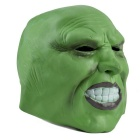 Green Rubber Face Mask for Cosplay / Halloween Costume Party - Green