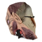 Anger Zombie Rubber Mask for Cosplay/ Halloween Costume Party - Flesh