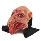 Gangtooth Big Mouth Ghost Style Rubber Mask for Cosplay Party - Black