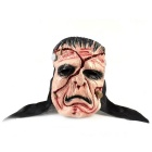 Scarface w/ Screw Cap Rubber Mask for Cosplay Costume Party - Black