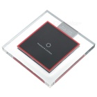 Square Qi Wireless Charger for Samsung / IPHONE / HTC + More - Black