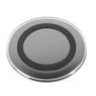 Acrylic Qi Wireless Charger for Samsung, IPHONE, HTC, Xiaomi, Huawei, Google + More - Black