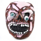 Horrible Eyeballs Popped out Skull Rubber Mask for Cosplay / Halloween Costume Party