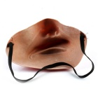 Half-Face Rubber Mask for Cosplay / Halloween Costume Party - Pink