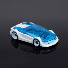DIY Mini Assembled Salt Water Powered Car Toy for Kid - Blue (2PCS)