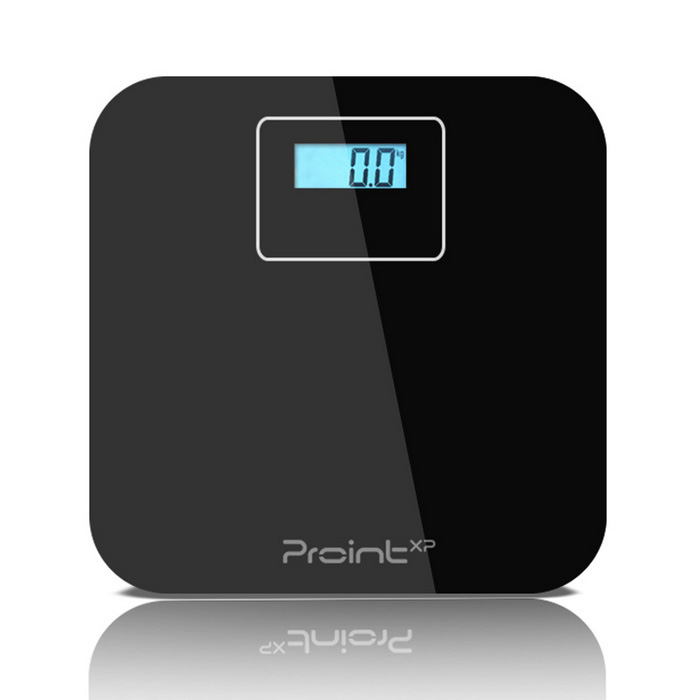 Prointxp VM168 Bluetooth Digital Bathroom Scale for Phone - Black