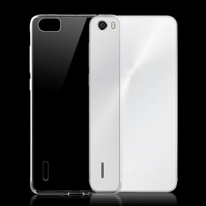 Ultra-thin TPU Back Cover Case for Huawei Honor 6 - Transparent