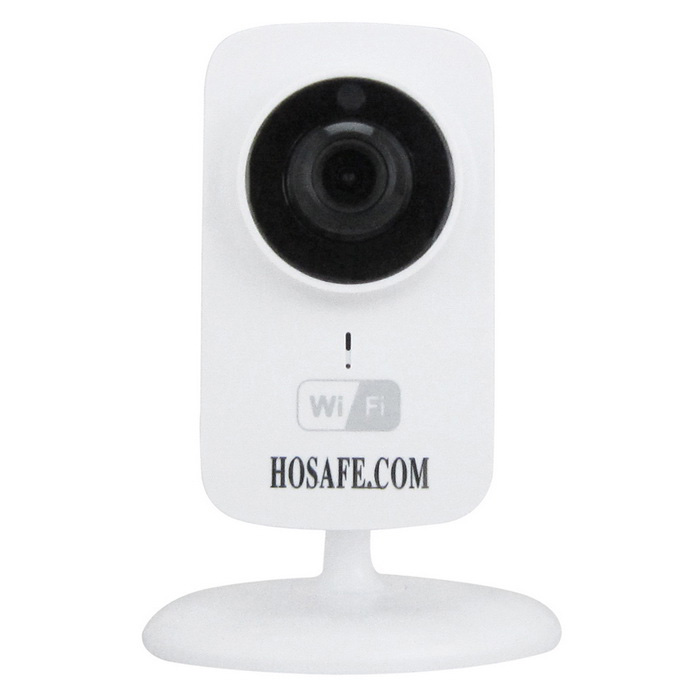 HOSAFE Wireless Plug/Play IP Camera w/ 2-Way Audio - White (EU Plug)