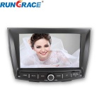 Rungrace Android 8-inch 2 Din Car DVD Player For Ssangyong Tivolan w/ BT, GPS, IPOD, Wi-Fi, ISDB-T