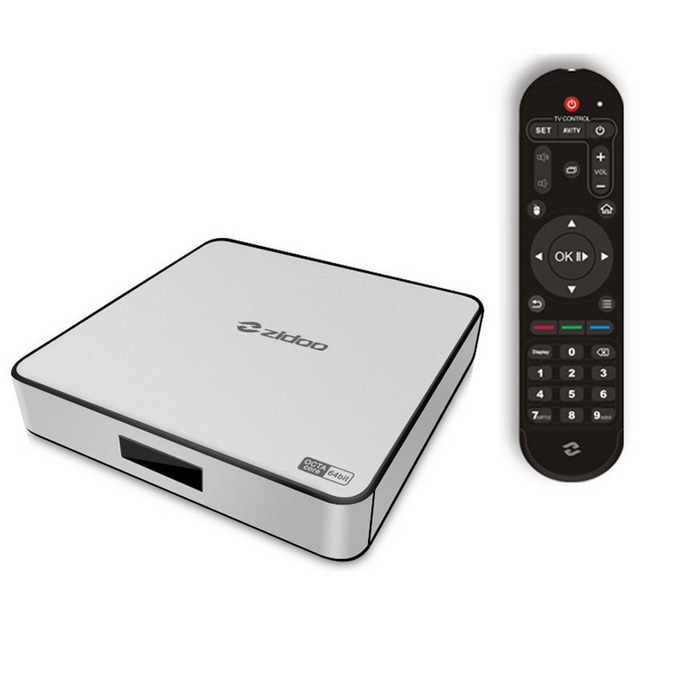Zidoo X6 pro android 5.1 streaming media player suporta 4K, kodi 15.1