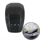 Sports Car Style 360 Degree LED Car Voice Alarm Vehicle Speed Control Radar Detector - Black