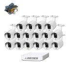 COTIER N16B3-Mini/H 16-CH Mini NVR Kits 720P Outdoor Waterproof P2P IP Camera NVR System