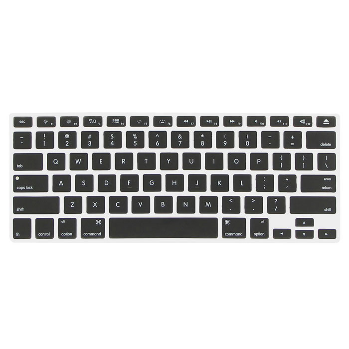 "ENKAY Protective Keyboard Cover for MACBOOK PRO 13.3"" / 15.4 "" - Black"