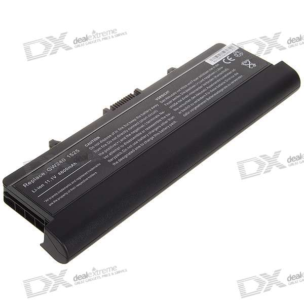 Dell 1525 Compatible High Capacity 6600mAh Replacement Battery for Dell 1525/1526 Series