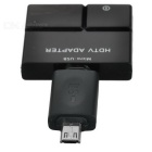 Micro USB MHL to HDMI Adapter for Samsung S3 / 4 / Note 2 / 3 - Black