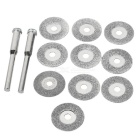 16mm Diamond Grinding / Carving / Cutting / Chamfering Disc Set