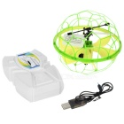 UDIR/C U935 Induced IR R / C Aircraft Dimmable Light Fly Ball - Yellow