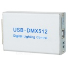 Free Drive USB LED DMX512 Stage Light Controller Support Micro SD Card