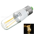 E27 4W 4-COB LED Filament Bulb Lamp Warm White Light 3200K 400lm (AC 85~265V)