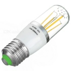 E27 4W 4-COB LED Filament Bulb Warm White Light 3200K 400lm (85~265V)
