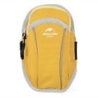 "NatureHike Sports Jogging Armband Arm Bag for 5.5"" Phone - Yellow"