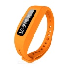 ELAH BT014 Waterproof Bluetooth V4.0 PU Bracelet w/ OLED, Activity/Sleep Track, Call/Message Remind