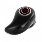 Hidden Wireless Bluetooth V4.0 In-Ear Headset w/ Mic - Black