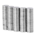 8*1.5mm Strong Small Size Columniform NdFeB Magnets - Silver (100PCS)