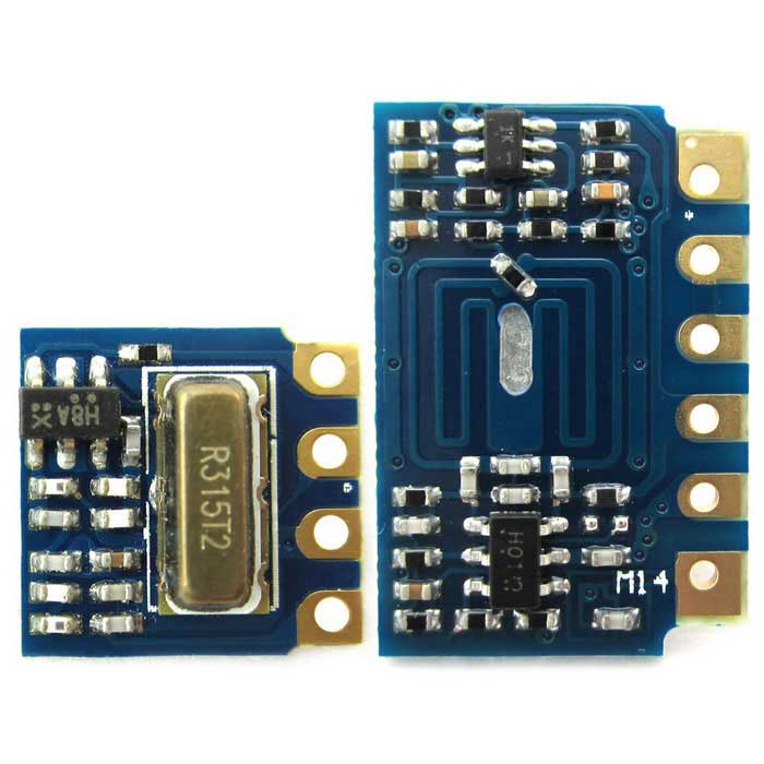 Mini RF Transmitter Receiver Module 315MHz Link Kit for Arduino