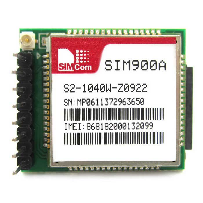 SIM900A Dual-band Network Mini Serial GPRS GSM Breakout Module