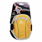 "NatureHike Sports Arm Band Bag for 4.7"" Devices - Yellow + Grey (S)"