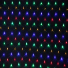 JIAWEN 2*2m 192-LED 8-Mode RGB Light Christmas / Ornamental Net Light