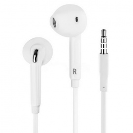 3.5mm In-Ear Headset Headphone for Samsung Galaxy S6 / S6 Edge - White